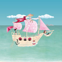 Pink Pirates® Piratinnenschiff by Gosia Kollek