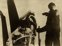 El Lissitzky, Arbeiter und Schornsteine von AKG  Images