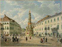Baden bei Wien, Das Kaiserhaus/ Aquarell von E. Gurk by AKG  Images