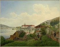Tegernsee,  Kloster / Aquarell von J. Alt by AKG  Images
