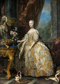 Maria Leszczynska / Gemälde von Carle van Loo by AKG  Images