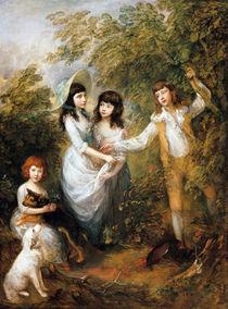 Thomas Gainsborough, Marsham-Kinder von AKG  Images