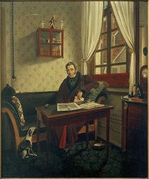 P.Schwingen, Johann Friedrich Wülfing / Gemälde, um 1840/42 von AKG  Images