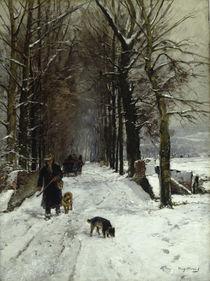 H. Mühlig, Winter auf der Grafenberger Allee by AKG  Images