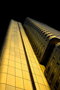 Goldenes Hochhaus von Michael Schickert