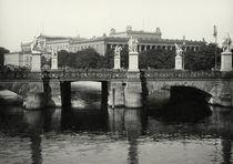 Berlin, Ansicht Schloßbrücke / Foto Levy by AKG  Images
