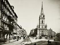 Jerusalemer Kirche / Foto / Levy um 1900 von AKG  Images