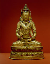 Tibet, Buddhism, Amitayus / sculpture by AKG  Images