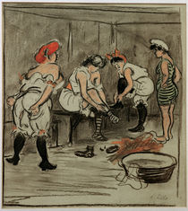 Heinrich Zille, Four Women in the Changing Room by AKG  Images