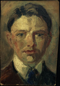 Macke / Self-portrait study / 1907 by AKG  Images