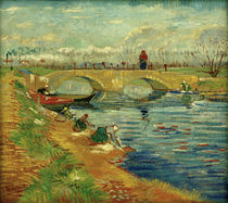 V. van Gogh, Pont de Gleize bei Arles von AKG  Images