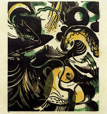 Creation II / F. Marc / Painting, 1914 by AKG  Images