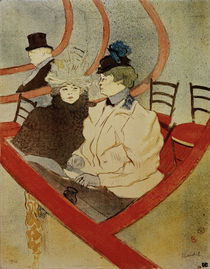 Toulouse-Lautrec, The Grand Box / 1896/97 by AKG  Images
