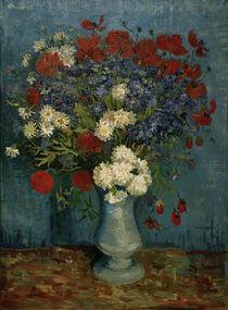 V. van Gogh, Vase w. Cornflowers / Paint. by AKG  Images