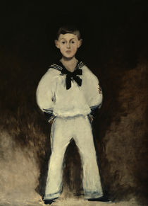 Henry Bernstein / Painting by Manet by AKG  Images