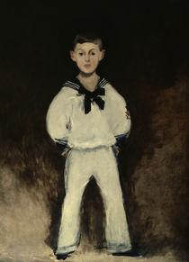Henry Bernstein / Gemälde von Manet von AKG  Images