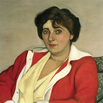 F.Vallotton / Le chandail rouge. by AKG  Images