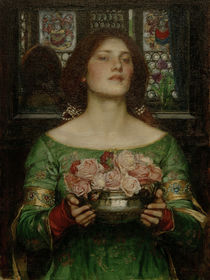J.W.Waterhouse / Gather Ye Rosebuds... by AKG  Images