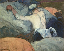 Paul Gauguin, Im Heu / Gemälde, 1888 von AKG  Images