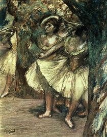 Edgar Degas, Tänzerinnen in Grün von AKG  Images
