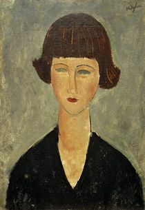 Modigliani / Young Brunette / FORGERY? by AKG  Images