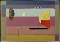 W.Kandinsky, Kühle Streifen / Gemälde, 1930 von AKG  Images