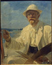 Peder Severin Kröyer, Selbstporträt des Künstlers, 1897 von AKG  Images