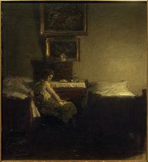 J. Paulsen, Im Schlafzimmer