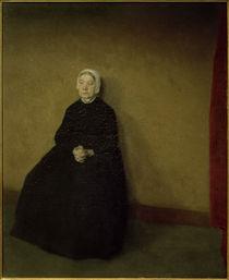 V. Hammershöi, Eine alte Frau by AKG  Images