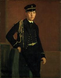 Degas / Achille de Gas as navy cadet/c1856 by AKG  Images