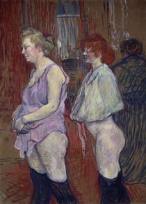 Toulouse-Lautrec / Rue des Moulins /1894 by AKG  Images