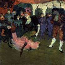H.Toulouse-Lautrec, Marcelle Lender Bol. von AKG  Images