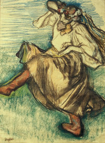 Degas / Russian dancer /  c. 1899 by AKG  Images