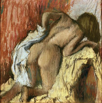 Degas / Woman drying herself /  c. 1896 by AKG  Images