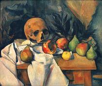 P.Cézanne, Nature morte au crâne von AKG  Images