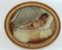 van Gogh / Female nude on bed / 1887 by AKG  Images