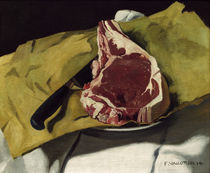 Vallotton / Still life: Entrecote / 1914 by AKG  Images