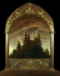 C.D.Friedrich, Kreuz im Gebirge / 1808 von AKG  Images