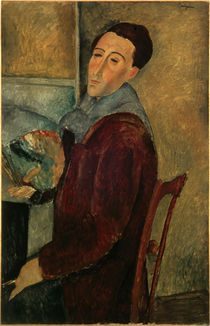 Amedeo Modigliani / Self-Portr. /  c. 1910 by AKG  Images