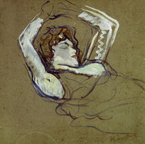 Toulouse-Lautrec, Reclining Woman / 1894 by AKG  Images
