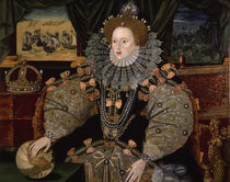 Elizabeth I / Armada Portrait 1588 by AKG  Images