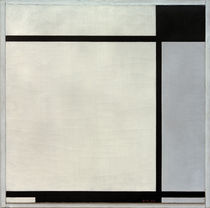 Tableau No. II, with Black and Grey /  P. Mondrian / Painting 1925 by AKG  Images