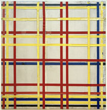 New York City 1 / P. Mondrian / Painting 1941 by AKG  Images