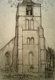 P.Mondrian, Kirche zu Domburg von AKG  Images