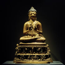 Buddha Praying / Statue, 8th Century by AKG  Images