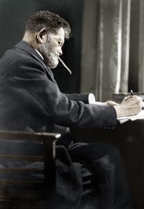 Heinrich Zille / Foto 1928 von AKG  Images