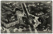 Berlin, Nollendorfplatz, Hochbahn-Bhf / Luftaufnahme, um1920 by AKG  Images