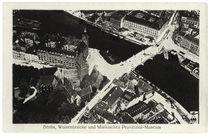 Berlin, Märkisches Museum und Waisenbrücke / Fotopostkarte, um 1920 by AKG  Images