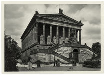 Berlin, Nationalgalerie, Fotopostkarte, um 1930 by AKG  Images