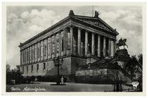 Berlin, Nationalgalerie, Fotopostkarte, um 1930 by AKG  Images
